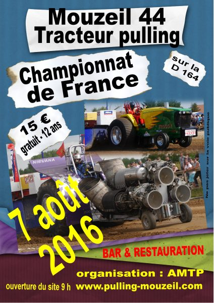 flyers tracteur pulling